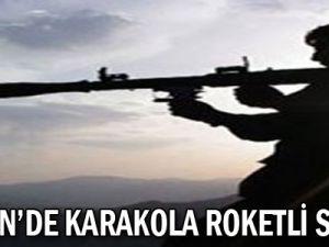 Mardin'de Karakola Roketli Saldırı