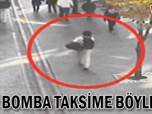 Canlı Bomba Taksim'e Böyle Gitti-VİDEO