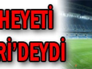 FIFA heyeti Kayseri'deydi