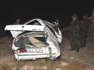 Otomobil Takla Attı, Anne ile Kızı Öldü