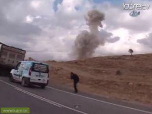 Şırnak'ta Polis Faciayı Önledi Bomba böyle patlatıldı! - Video
