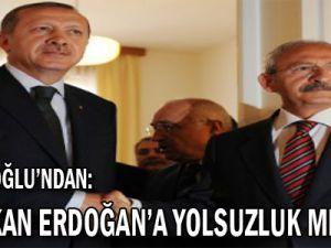 Kılıçdaroğlu'ndan, Başbakan Erdoğan'a Yolsuzluk Mektubu