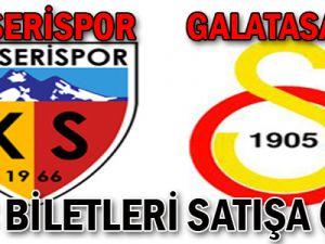 Kayserispor - Galatasaray Maçı Biletleri Satışa Çıktı