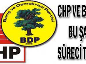 CHP ve BDP'nin bu şartı süreci tıkadı!