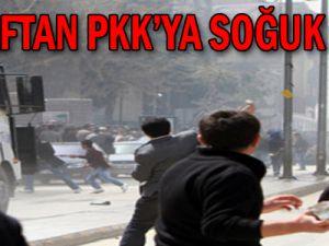 Esnaftan PKK'ya soğuk duş!