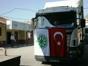 KAYSERİ ŞEKER'DEN DEPREMZEDELERE 80 TON SU YARDIMI.