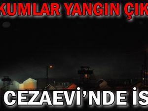 Van Cezaevi'nde İsyan Mahkumlar Yangın Çıkardı