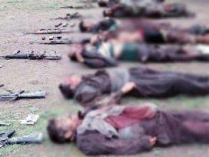 15 PKK'lı Ölü Ele Geçirildi