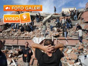 VAN'DA ŞİDDETLİ DEPREM - Video