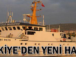 Türkiye'den yeni hamle