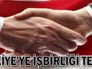 Türkiye'ye işbirliği teklifi