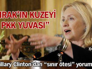 """Clinton: """"Irak'ın kuzeyi PKK yuvası"""""""