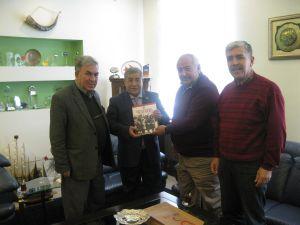 Türk Kızılayı Kayseri Şubesi Başkanı Ayhan Uzandaç, 21 Ekim Cuma günü Odamızı ziyaret etmiştir.