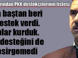 Öcalan'ın ağzından PKK destekçilerinin listesi
