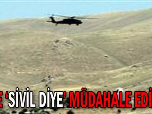 Teröristlere sivil diye müdahale edilmedi!