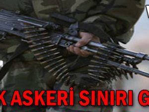 Türk askeri sınırı geçti - Video