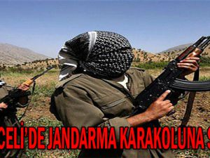 PKK Jandarma Karakoluna Saldırdı