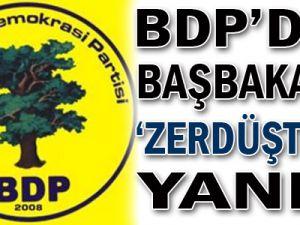 BDP'den Başbakan'a 'Zerdüştlük' Yanıtı
