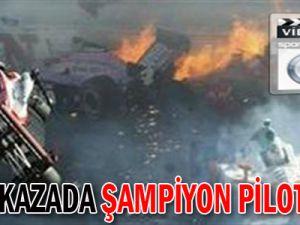 Facia kazada şampiyon pilot öldü - Video
