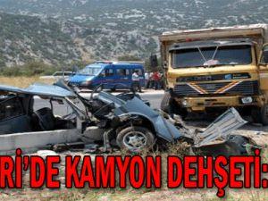 Kayseri'de Kamyon Dehşeti: 3 Ölü