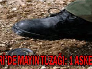 Hakkari'de Mayın Tuzağı: 1 Şehit 2 Asker Yaralı