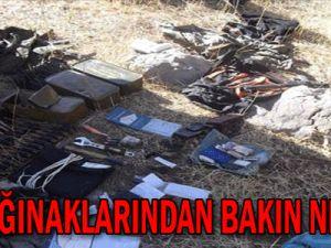 PKK Sığınaklarından Bakın Ne Çıktı