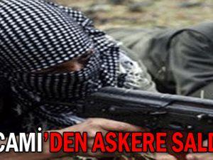 PKK camiden askere saldırdı