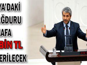 ANTALYA'DAKİ SEL MAĞDURU ESNAFA 100 BİN TL KREDİ VERİLECEK