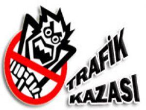 Sivas&#39ta Trafik Kazası: 1 Yaralı