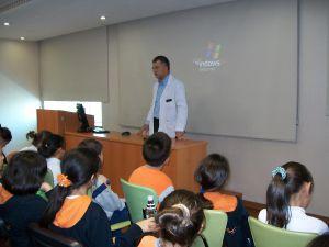 ilk okul öğrencilerine sağlıklı beslenme semineri&#8207