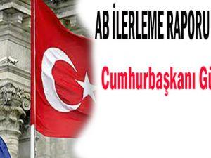 AB İLERLEME RAPORU GÜL&#39E ÖVGÜ