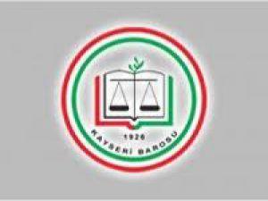 Kayseri Barosu Kadın Hakları Komisyonu&#39ndan HSYK&#39ya Tepki
