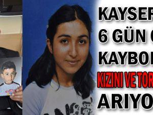 KAYSERİ&#39DE 6 GÜN ÖNCE KAYBOLAN KIZINI VE TORUNLARINI ARIYOR...!