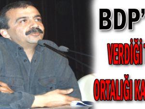 BDP&#39nin verdiği teklif ortalığı karıştırdı