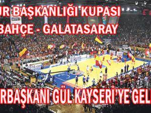 CUMHUR BAŞKANLIĞI KUPASI KAYSERİ&#39DE