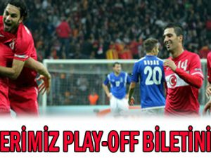 MİLLİLERİMİZ PLAY-OFF BİLETİNİ KAPTI