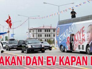 Baki Dede Başbakan&#39ın önünden koştu, evi kaptı