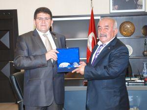 Tunceli TSO Başkanı Cengiz&#39den Odamıza Ziyaret&#8207