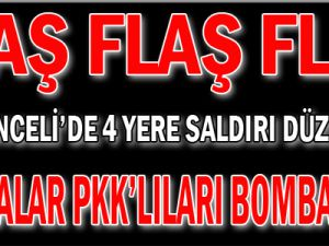 Kobralar PKK&#39lıları bombalıyor