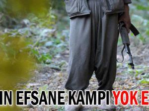 PKK&#39nın efsane kampı yok edildi!