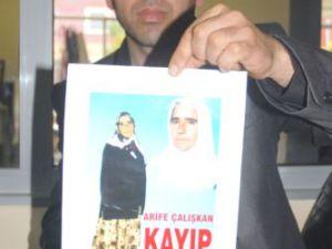 KAYSERİ&#39DE KAYIP ANNELERİNİ ARIYORLAR