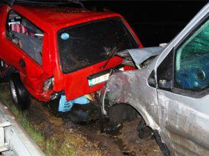 Osmaniye&#39de zincirleme trafik kazası: 2 ölü, 3 yaralı