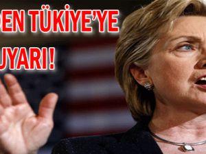 ABD'den Türkiye'ye uyarı: Tehdit etme