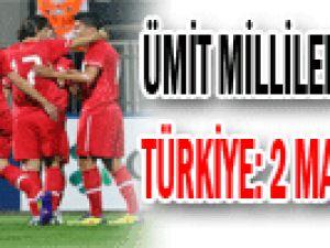 Ümit Milliler&#39den teselli!: Türkiye 2 Macaristan 1