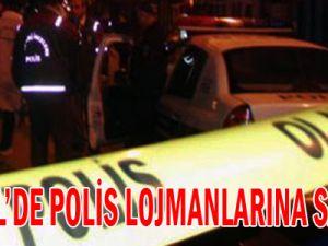Bingöl&#39de polis lojmanlarına saldırı