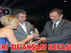 KAYSERİ&#39DE AKŞAM SEFASI