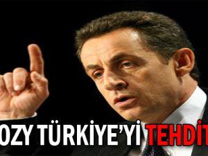 SARKOZY TÜRKİYE&#39Yİ TEHDİT ETTİ!