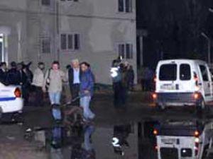 Polis merkezine ses bombası ve molotofkokteyli