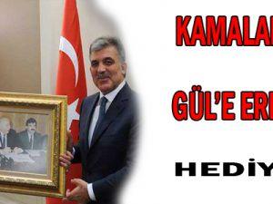 KAMALAK&#39TAN ABDULLAH GÜL&#39E HEDİYE