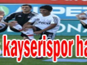 Beşiktaş, Kayserispor mesaisinde